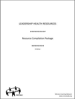 Assessment Tools - Leadership Health